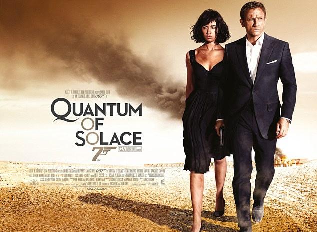 quantum of solace quad poster