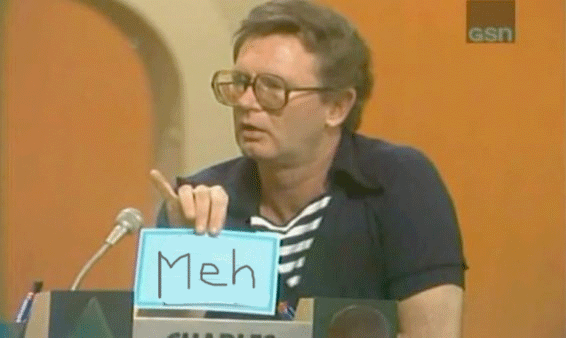 Charles Nelson Reilly Meh