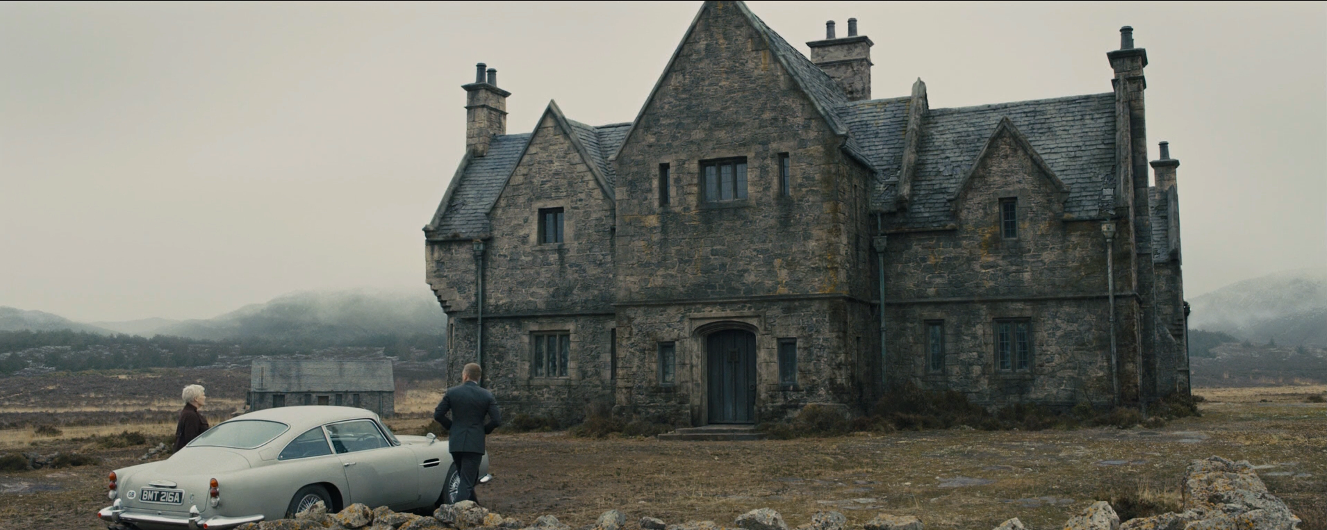 Skyfall James Bond's estate
